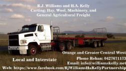 Rohan Williams H. A. Kelly and R. J. Williams Partnership